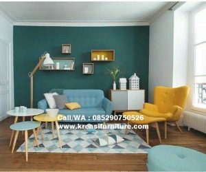 Set Kursi Sofa Model Scandinavian Terlaris