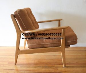 Sofa Modern Midcentury Jati