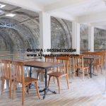 Set Kursi Cafe Jati Denisha