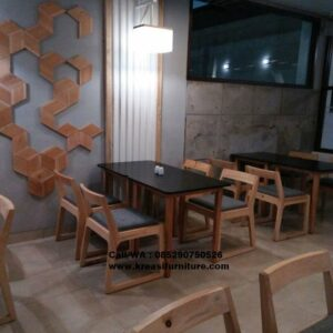 Set Kursi Cafe Jati Yamamoto