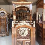 Mimbar Masjid Kubah Ukiran Model Terbaru