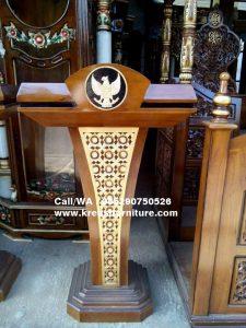 Podium Minimalis Logo Garuda Terbaru
