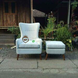 Sofa Single Retro Fabric Jok
